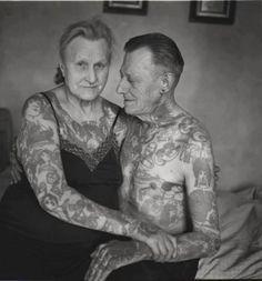 aging tattoos