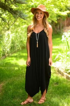 Free To Be Jumpsuit- Black
