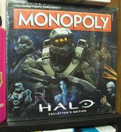 Flea Market Find - Halo Monopoly ($7)