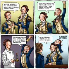 """inkyparthia: """" And that was pretty much the relationship between Lafayette and…"""