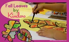 Colorful leaf painting from DSS