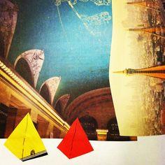Pyramid City collage by strange anatomies
