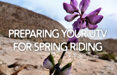 Preparing your UTV for Spring Riding The Great Outdoors, Campaign, Content, Facebook, Medium, Spring, Tips, Outdoor Life, Off Grid