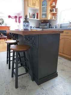How to Turn an Old China Cabinet into a Beautiful Kitchen Island DIY - this upcycle created a beautiful kitchen island Best Picture For kitchen islands shiplap For Your - Diy Kitchen Decor, Outdoor Kitchen Design, Kitchen Furniture, Kitchen Ideas, Furniture Nyc, Furniture Websites, Furniture Movers, Kitchen Designs, Luxury Furniture