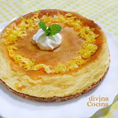 Con esta receta de tarta de limón y leche condensada te montas un postre de fiesta en un momento, con un textura única y un sabor muy especial.