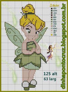 Baby Tinker Bell pattern by Dinha Ponto Cruz