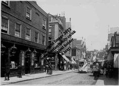 10 Mare Street, Hackney 1887 (Old Postcard.)