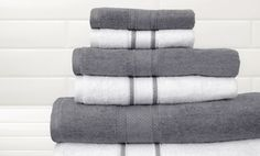 Groupon - Quick Dry 6-Piece 100% Egyptian Cotton Towel Set with Two Bath Towels, Two Hand Towels, and Two Washcloths  in [missing {{location}} value]. Groupon deal price: $26.99 + Free Shipping
