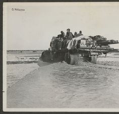 Truck driving through water South Australia, Image Shows, Military Vehicles, Colonial, Photograph, Trucks, Water, Photography, Aqua