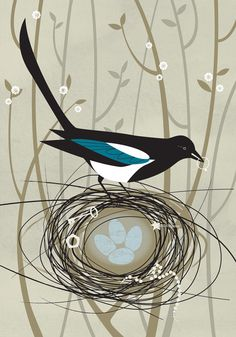 one little bird