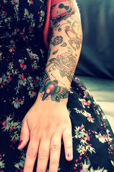 moth tattoo | Tumblr