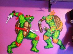 Ninja turtle I made for my kids