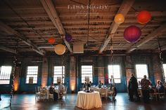 Portland Company Space Wedding Reception VenuesGold