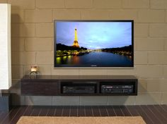 wall mounted tv stand mayan espresso - Wall Mounted Tv Cabinet
