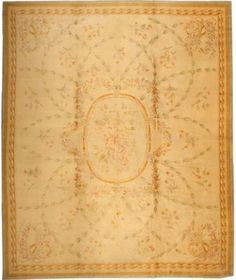 Antique Savonnerie French Rug #3204  http://nazmiyalantiquerugs.com/antique-rugs/savonnerie/