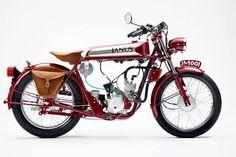 Produzida artesanalmente, a Halcyon 50 Deluxe presta homenagem às motos do início do século passado