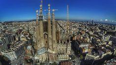 La Sagrada Familia, Barcelona, España (Spain) #BCN