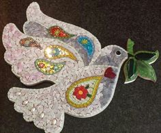 Mosaic dove of peace