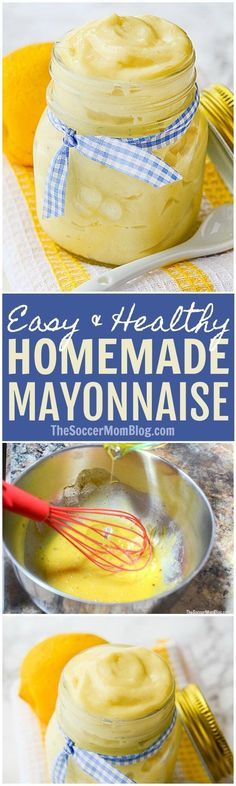Homemade mayonnaise is not only delicious, but good for you too! Simple, real food ingredients, gluten free, easy paleo option.