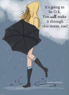 This Storm Too Inspirational Art for Women