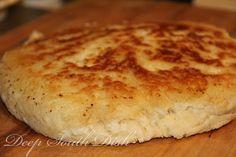 Old-fashioned skillet bread #recipe