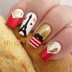 Nailpolis Museum of Nail Art | Pretty Paris by Lily-Jane Verezen