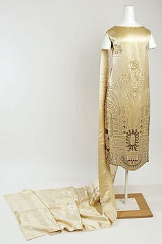 Wedding Dress  1925  The Metropolitan Museum of Art