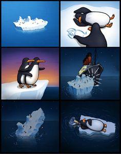 Alternate Titanic story...