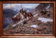 """""""Crippled But Still Coming""""  Charles Marion Russell"""