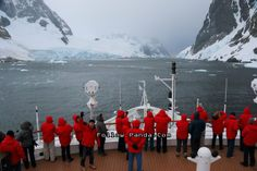 Observation Deck on Le Boreal Antarctic Cruise Ship - Lemaire Channel, Antarctica | FollowPanda.COM