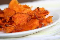 La Belle Vie Holistic Living: Spicy sweet potato chips