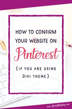 Find it hard to confirm your wordpress site on Pinterest? Here's a quick guide how you can do it easily. Blog Online, Online Jobs, Pinterest For Business, How To Pose, Pinterest Marketing, Social Media Tips, Getting Things Done, Being Used, Online Marketing