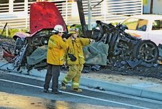 pictures of paul wallkers accident | The Horrific Aftermath of Paul Walker's Fatal Crash
