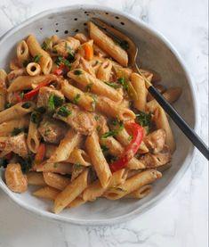 Pasta Recipes, New Recipes, Snack Recipes, Healthy Recipes, Penne Pasta, Comfort Food, Fun Cooking, Best Breakfast, Fajitas