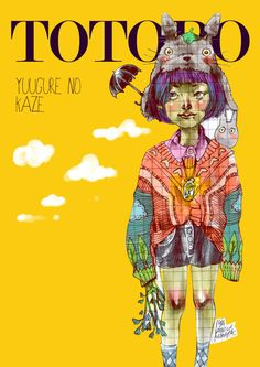 Totoro - Yuugure no Kaze  I DRAW WHAT I LOVE #1  isa panic monsta