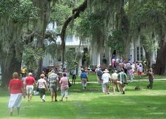 Tour the Rose Hill Mansion. Bluffton, SC