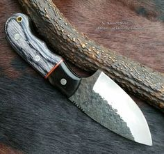 Hand Made Hand Forged blade Skinner Knife