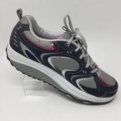 a99ee3dd1931 Skechers Shape Ups 11806 Womens Shoes Size 10 Gray Pink Toning Walking