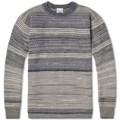 S.N.S. Herning Fisherman Crew Neck (Silicium Noise Mix)