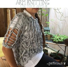 agentletouch: Arm Knitting... what a passion!!!