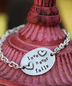 """<p> 1 Corinthians 13:8- """"Love never fails"""".</p>"""