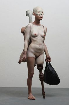 Recent, Nightmarishly Hyperreal Sculptures by Choi Xooang | Hi-Fructose Magazine