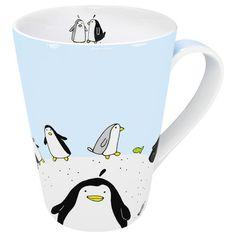 penguin bathroom accessories   Konitz Animals Globetrotter Penguin Mug   Wayfair
