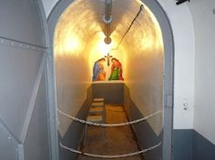 Chapel in a bunker on the Maginot Line.
