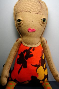 Paulie the Lovely Doll Love Creature by LookWhatICanDo on Etsy, $60.00