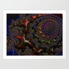 Deeper & Deeper Art Print   Kreative Minds Technology