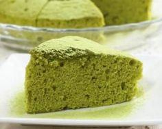 Gâteau léger au thé vert Matcha : http://www.fourchette-et-bikini.fr/recettes/recettes-minceur/gateau-leger-au-vert-matcha.html