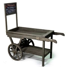 Retail Display. Here is your old roadside fruit cart