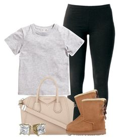 """""""What Y'all Doing?"""" by luhariiee ❤ liked on Polyvore featuring Joe Browns, H&M, Givenchy and UGG Australia"""