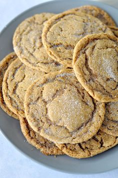 These soft & chewy molasses cookies are sure to a hit with friends & family! The beautiful color and combination of spices makes these cookies a true winner!